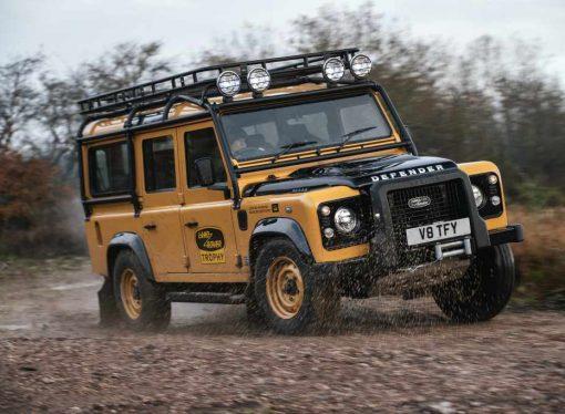 Land Rover volverá a fabricar la Defender del Camel Trophy
