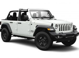 """El Jeep Wrangler estrena """"medias puertas"""" en EE.UU."""