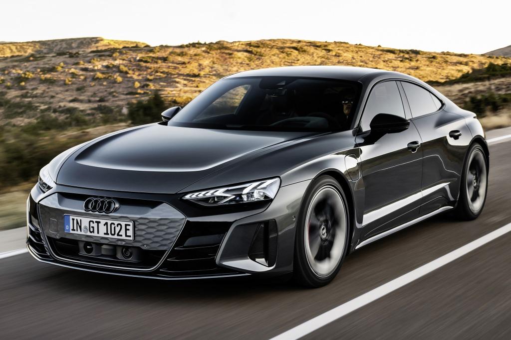 E-Tron GT, la berlina eléctrica de Audi