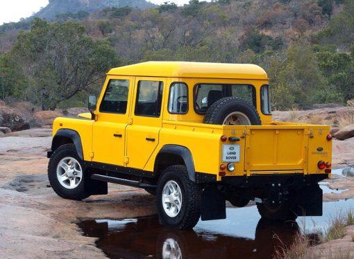 Land Rover no descarta una pick up de la nueva Defender