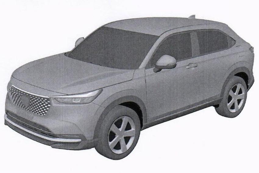 Se filtra el diseño definitivo de la nueva Honda HR-V