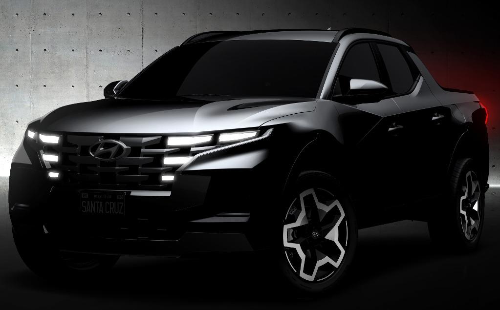 Primeras imágenes oficiales de la Hyundai Santa Cruz