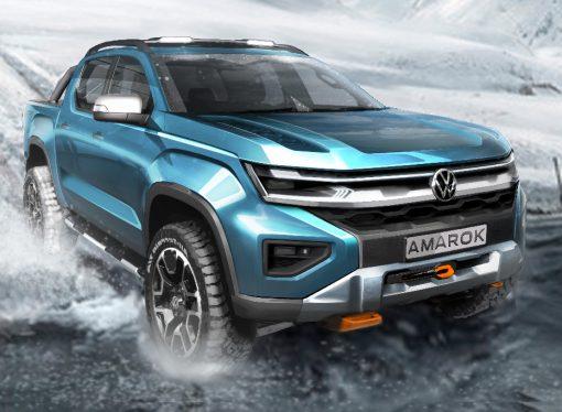 Volkswagen difunde otro adelanto de la nueva Amarok