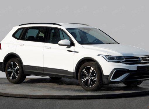 El rediseño del VW Tiguan Allspace aparece en China