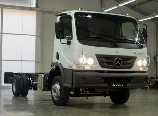 Mercedes nacionaliza la producción del Accelo automático