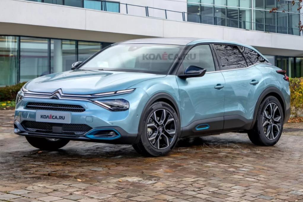 Así podría ser el nuevo Citroën C5
