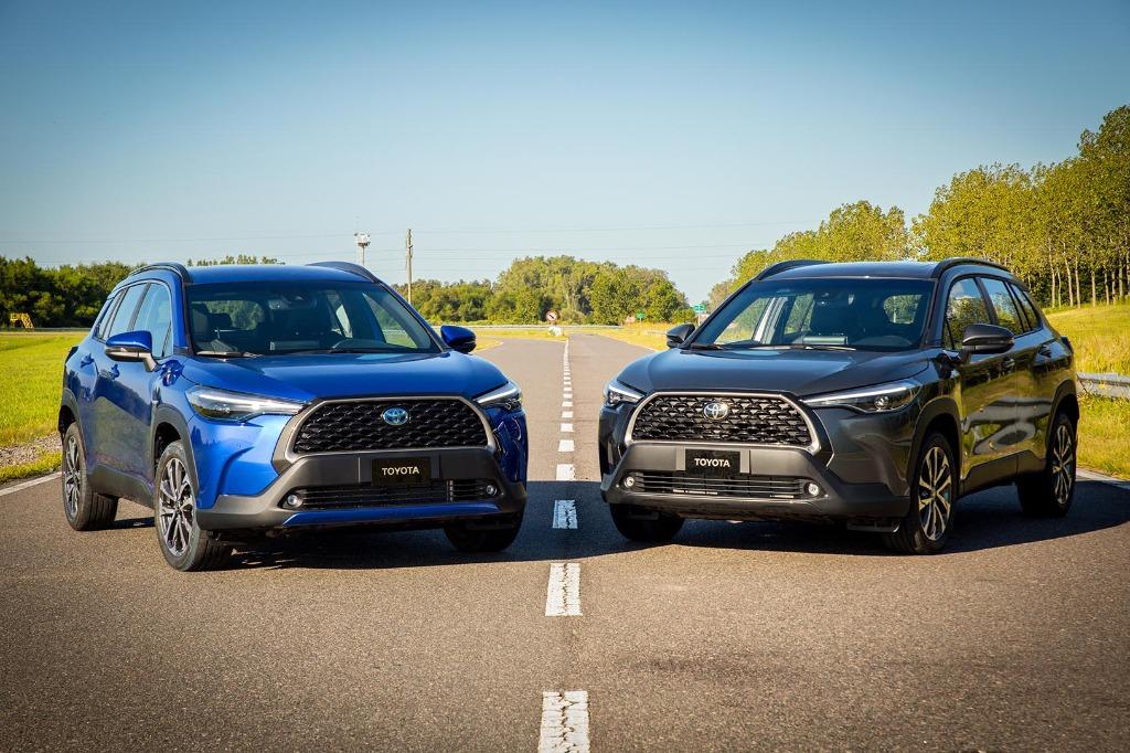 Toyota lanza el Corolla Cross en la Argentina