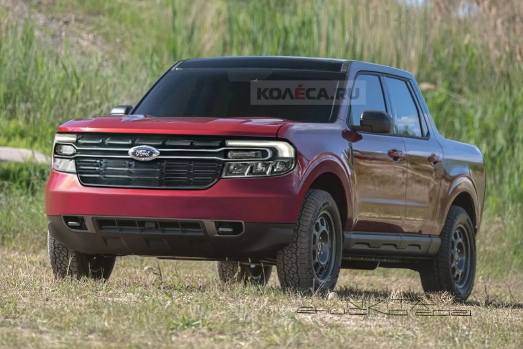 Así se verá la Maverick, la mini Ranger de Ford