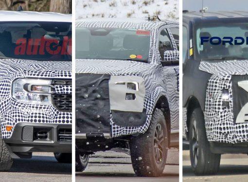 Ford ultima su avalancha de nuevas pick ups