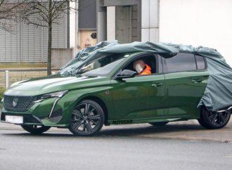 El nuevo Peugeot 308 se deja ver por primera vez al desnudo