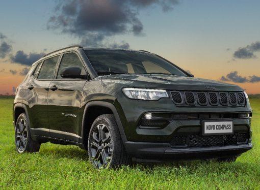 El Jeep Compass brasileño estrena motor turbo (llega a mitad de año)