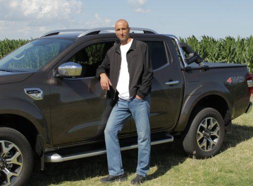 Ginóbili se convierte en la cara de la Renault Alaskan