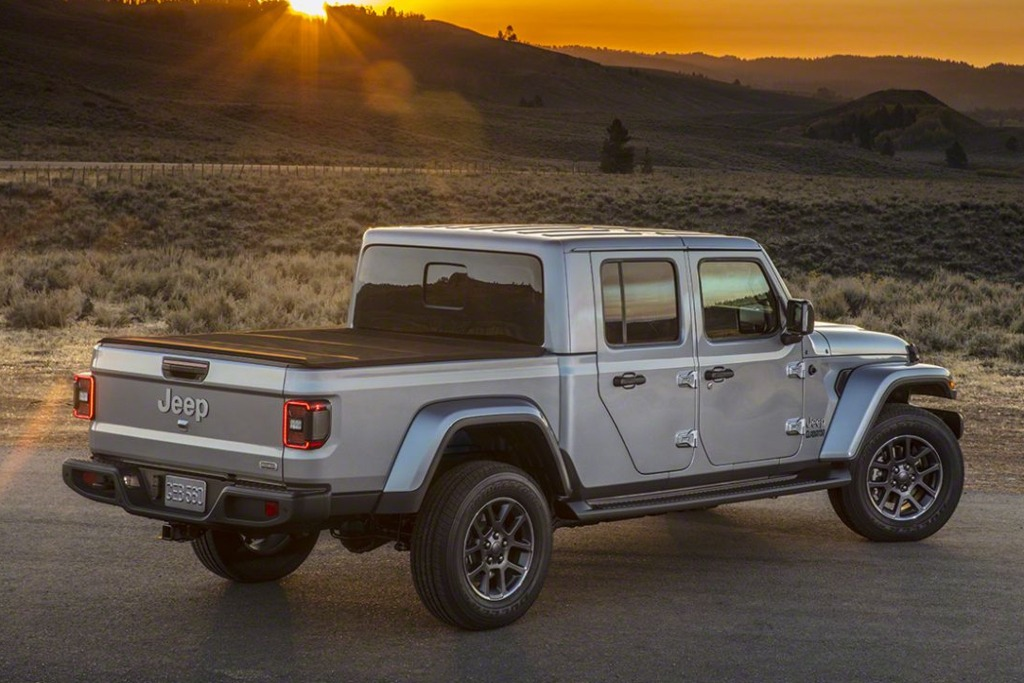 Jeep Gladiator: el Wrangler pick up