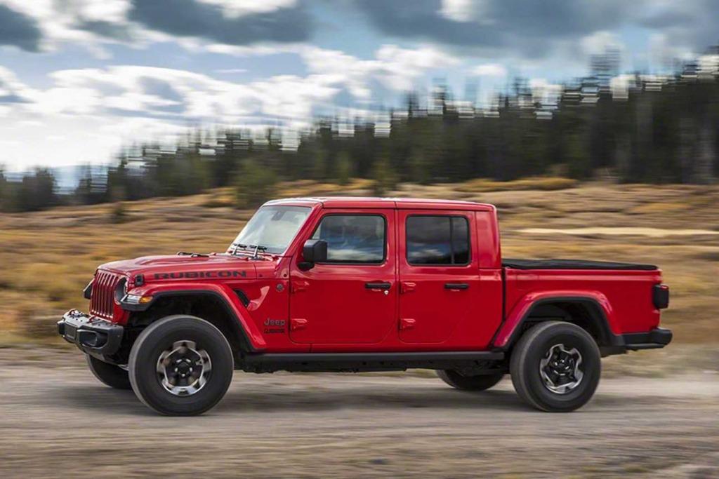 Jeep lanza el Gladiator en la Argentina