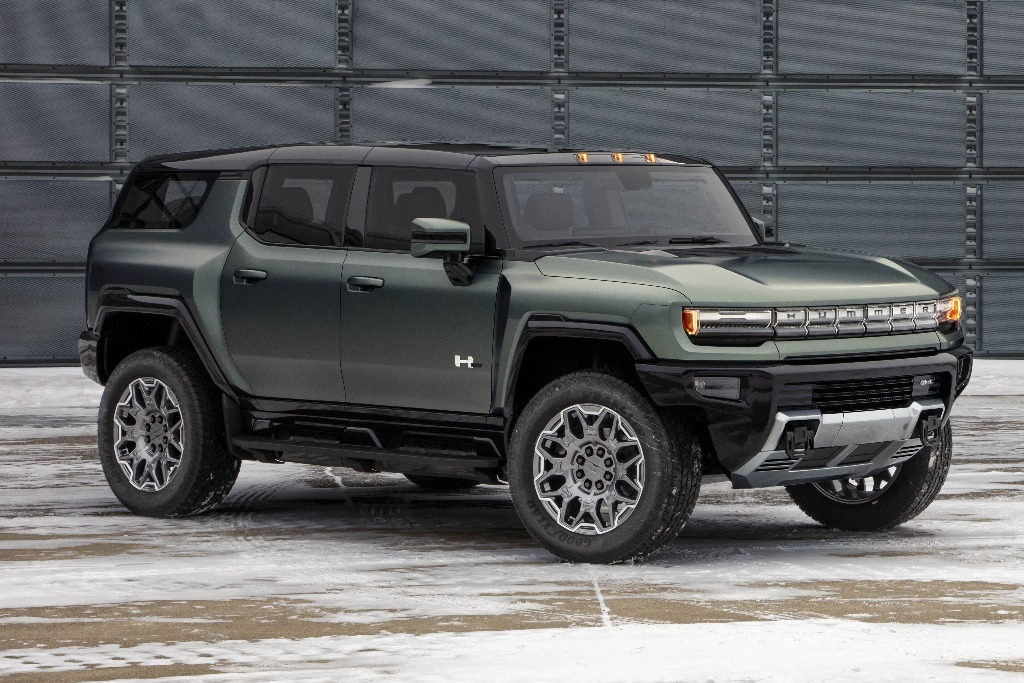 GM lanza la versión SUV del Hummer eléctrico