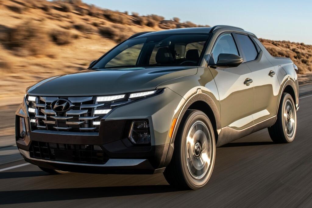 Fotos y datos oficiales de la Hyundai Santa Cruz