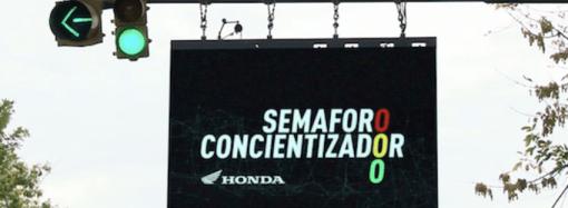 Honda lanza el Semáforo Concientizador