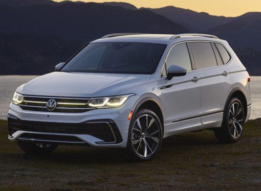 Volkswagen muestra el rediseño del Tiguan Allspace