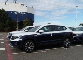 Volkswagen inició la exportación del Taos