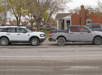 La Ford Maverick será tan grande como una Bronco Sport, pero más larga