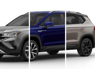 En qué se diferencian las versiones del Volkswagen Taos