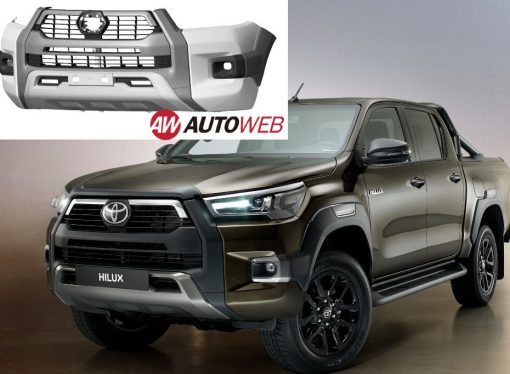 Toyota registra la trompa ¿de la nueva Hilux GR Sport?