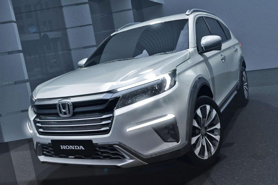 Honda adelanta un nuevo SUV de siete asientos