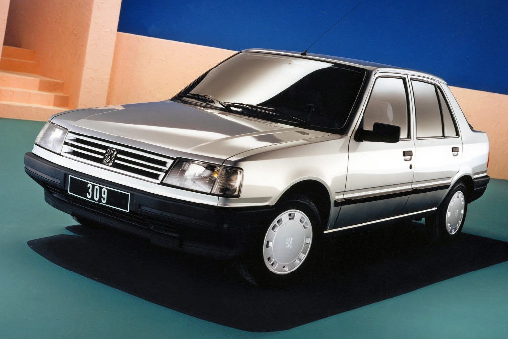 Peugeot 309, el modelo más extraño de la historia del león
