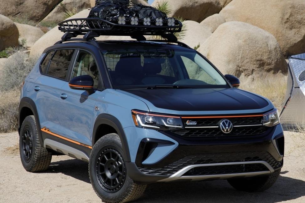 El VW Taos estrena un concept en Estados Unidos