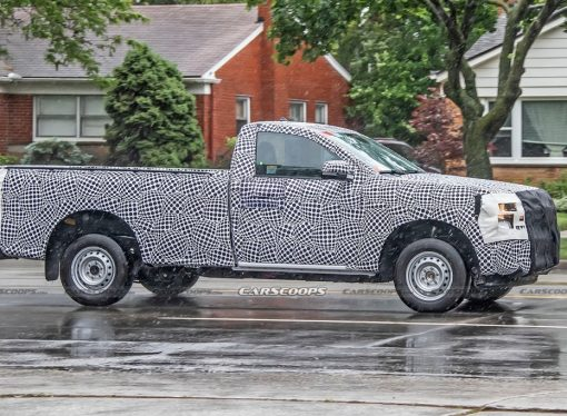 La nueva Ford Ranger mantendrá la carrocería de cabina simple