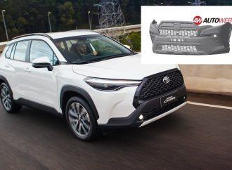 Toyota registra la trompa que tendrá el Corolla Cross GR