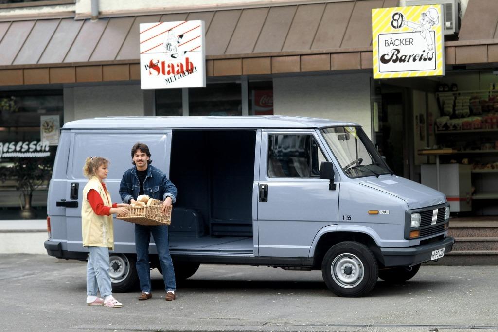 Los furgones de Sevel cumplen 40 años