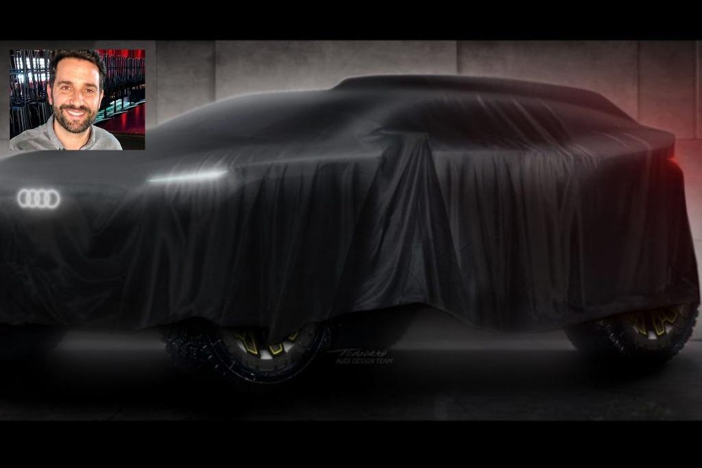 """J. M. Díaz: """"diseñar el Audi del Dakar fue lo más difícil que enfrente hasta ahora"""""""