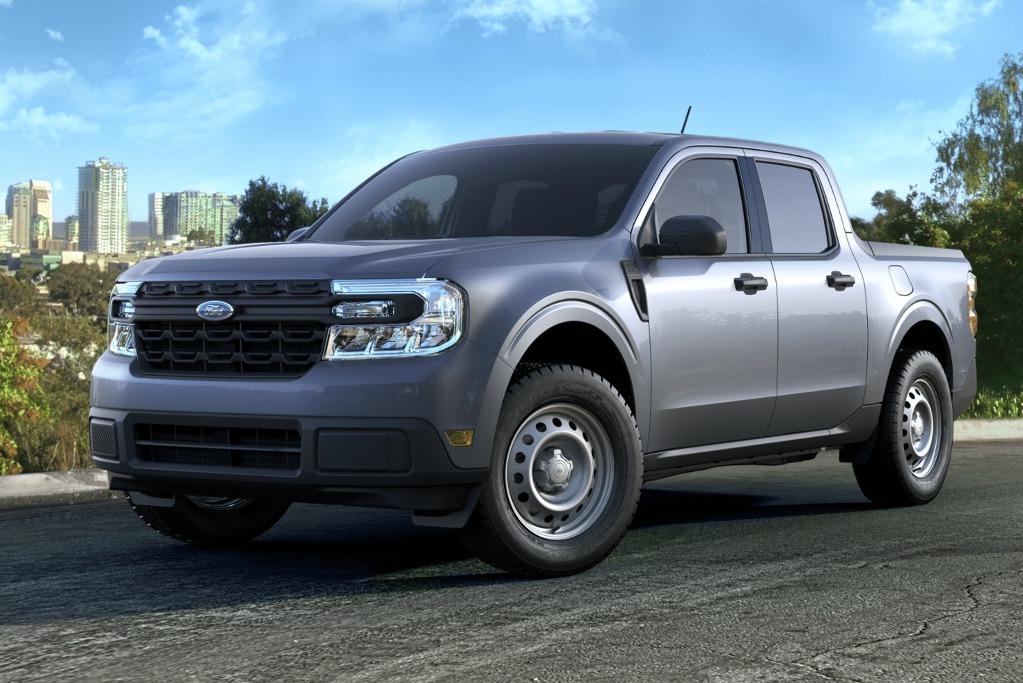 Esta Maverick base podría ser el modelo más barato de Ford en la Argentina