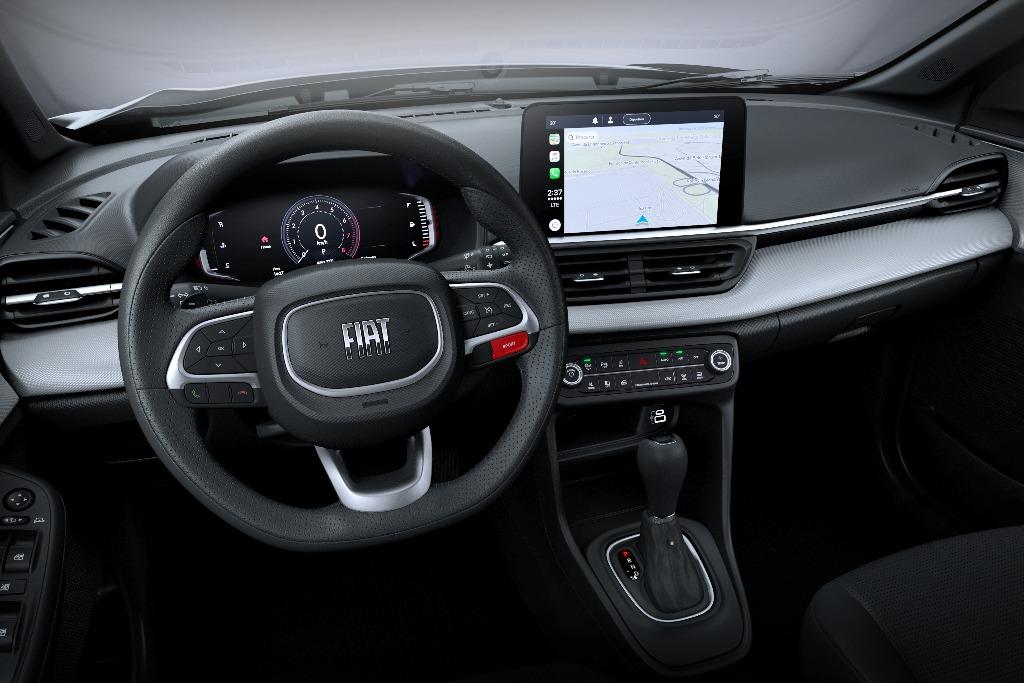 Fiat muestra el interior del Pulse