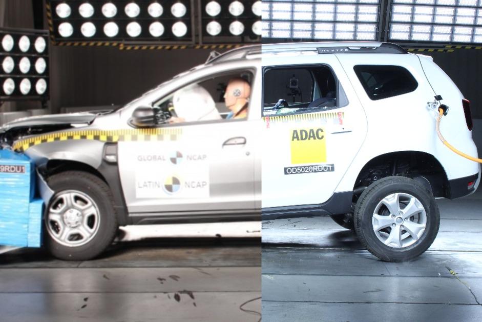Nuevo protocolo Latin NCAP: cómo pasó la misma Renault Duster de 4 a 0 estrellas