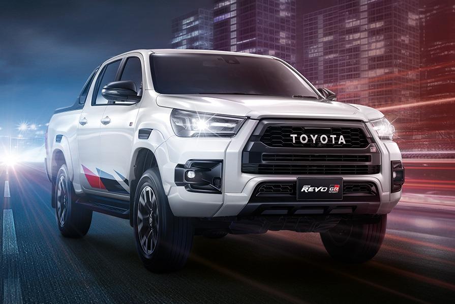 La nueva Toyota Hilux GR Sport se muestra en Tailandia