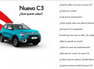 ¿Es un auto indio? Citroën responde sobre el nuevo C3 en su web