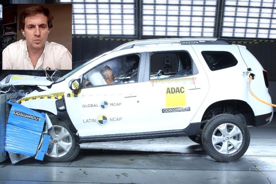 """Alejandro Furas: """"Si se testeara todo, en dos años se acaban los autos cero estrellas"""""""