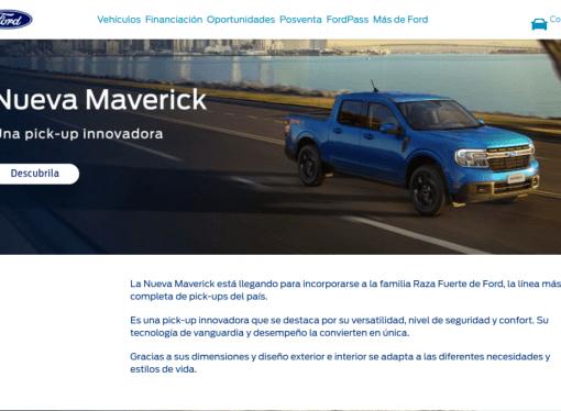 La Ford Maverick, cada vez más cerca de la Argentina