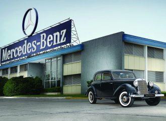 Mercedes-Benz cumple 70 años en la Argentina
