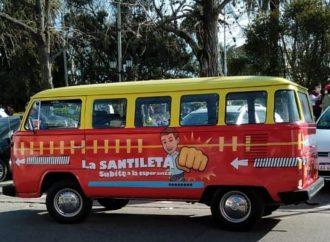 Espert vs Santilli: la campaña se hace sobre ruedas
