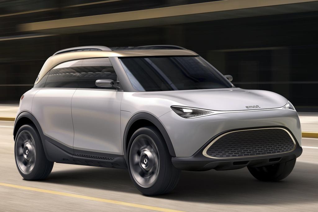 Smart también se suma a los SUV con el Concept #1