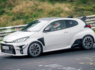 Toyota prueba una versión aun más radical del GR Yaris