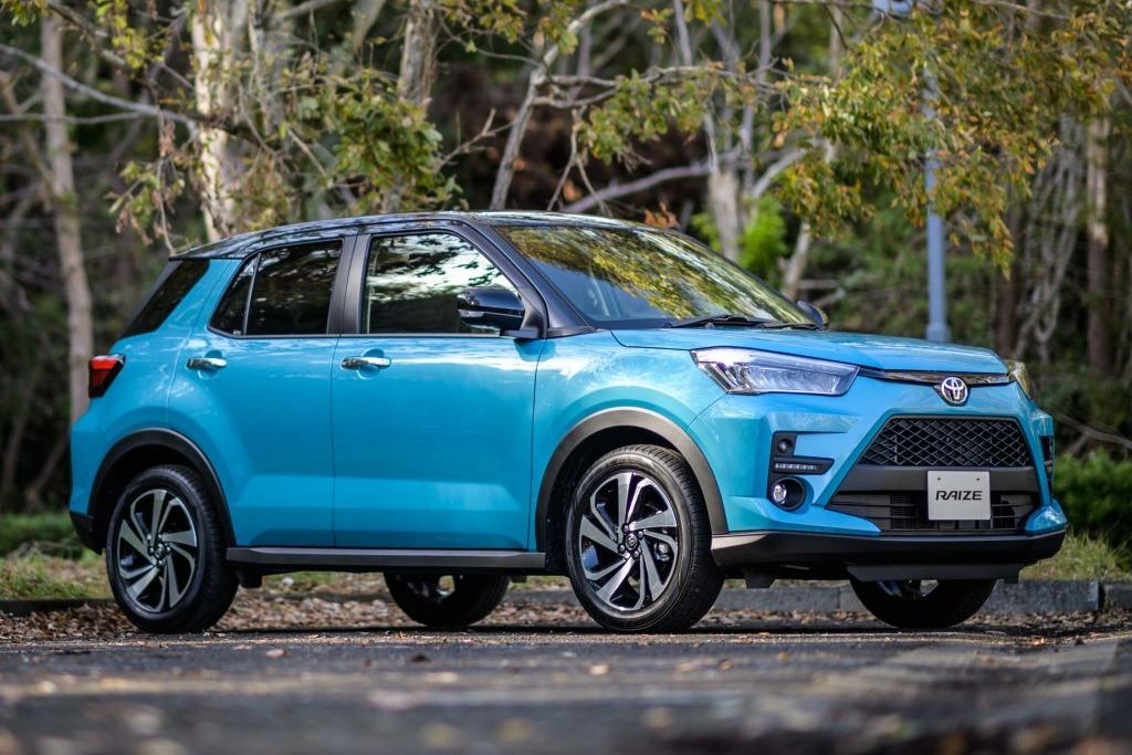 Toyota podría tener una doble oferta de SUV compactos en la región