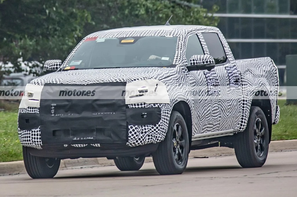 La nueva Volkswagen Amarok se deja ver en Estados Unidos