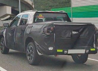 Cazan a la nueva Chevrolet Montana por primera vez