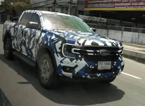 La nueva Ford Ranger, casi al desnudo